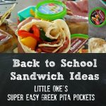 Super Easy Greek Pita Pockets #FreshBTS