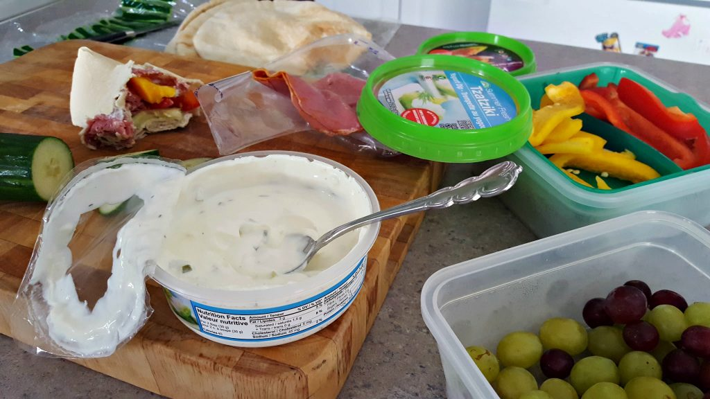 Super easy Greek Pita Pockets 1