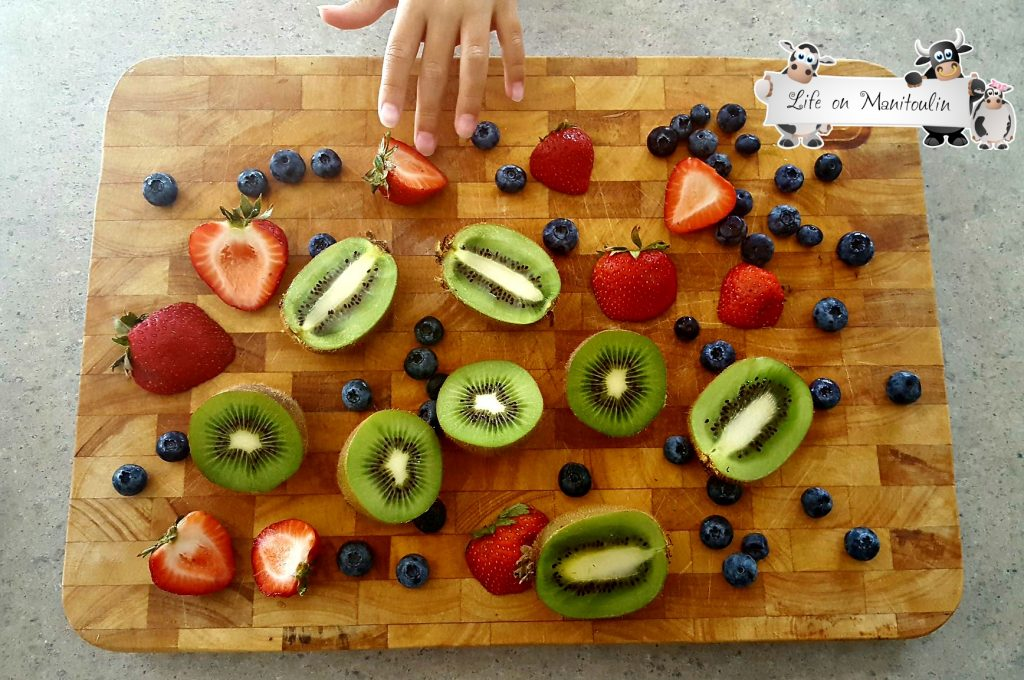 back to school fruits