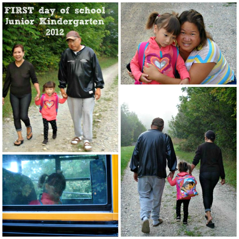 first day of school JK 2012