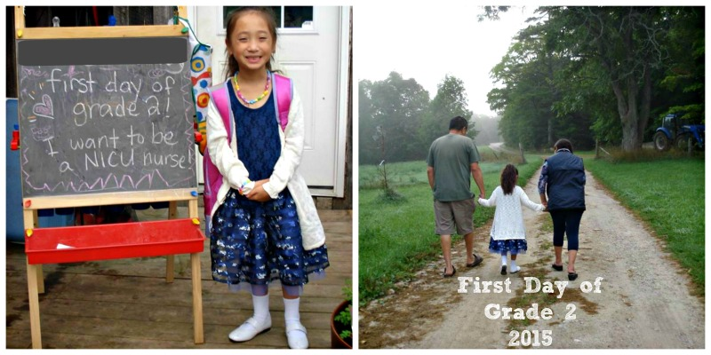 first day of school grade 2 2015