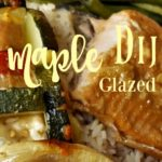 Salmon with Maple Dijon Glaze