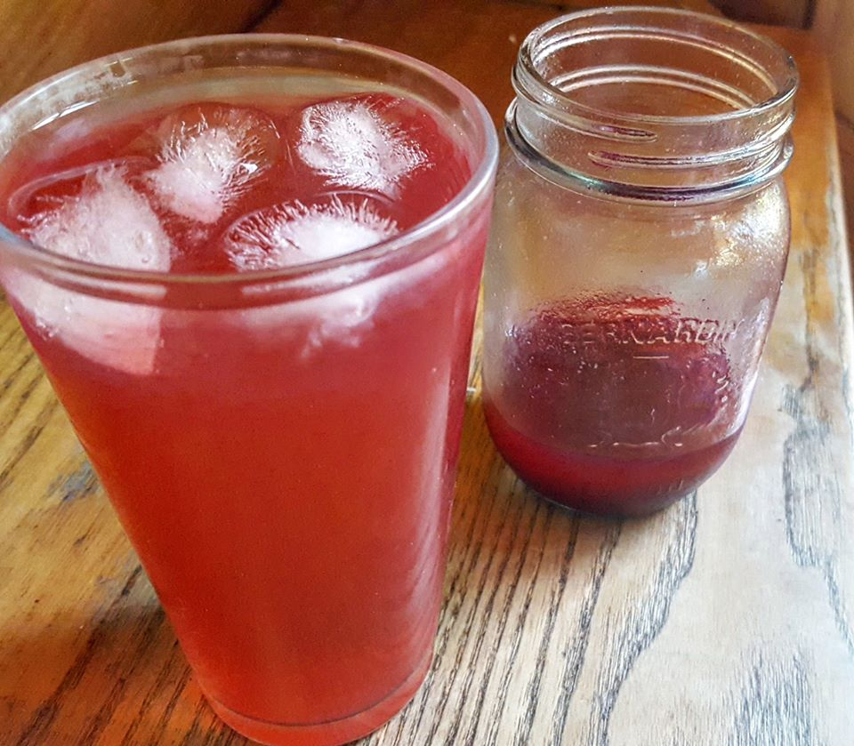 raspberry cider vinegar drink