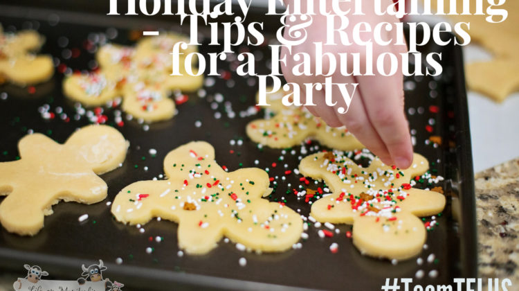 Holiday Entertaining ~ Tips & Recipes for a Fabulous Party