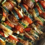 Layered Eggplant, Zucchini, Tomato Gratin & a #BakersSecret Giveaway!