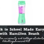 Back to School Made Easy with Hamilton Beach!