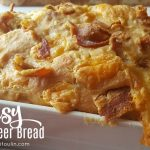Cheesy Bacon Beer Bread