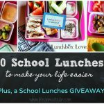 10 School Lunches That Will Make Your Life Easier