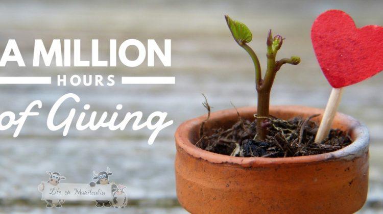 Million Hours of Giving #TeamTELUS #MillionHours