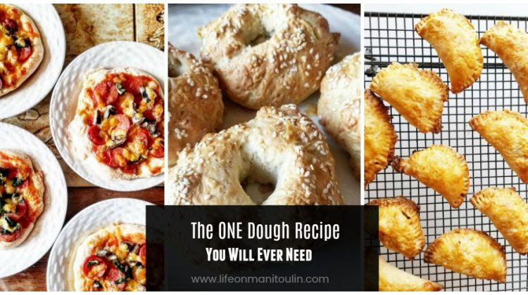 Bagels, Pizzas, Calzones…The One Dough Recipe I Will Ever Need