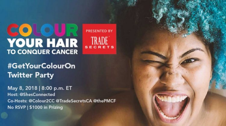 Colour Your Hair To Conquer Cancer Twitter Party #GetYourColourOn
