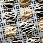 Spooky Mummy Halloween Cookies