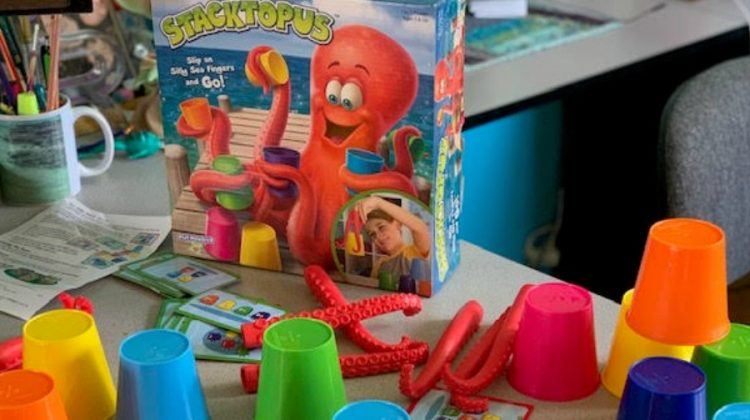 Family Fun with PlayMonster's Stacktopus Game!